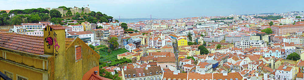 View of Lisbon by Patricia Schaefer