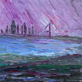 View on Manhattan by Vadim Levin