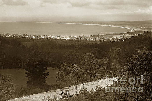 California Views Mr Pat Hathaway Archives - View of Monterey Bay from Artist Point on Carmel Hill Circa 1910
