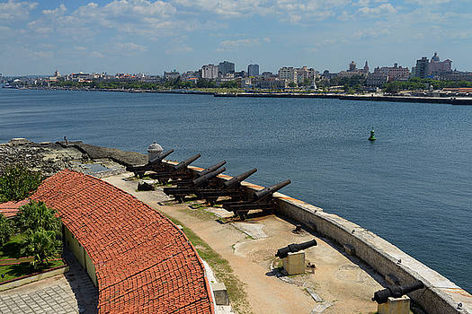 Reimar Gaertner - View of old Havana from Morro Castle fortress guarding the entra