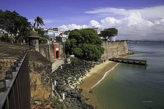 View of Old San Juan by Jose Oquendo