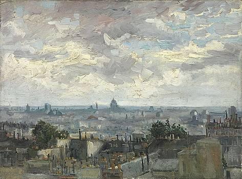 View Of Paris by Artistic Panda