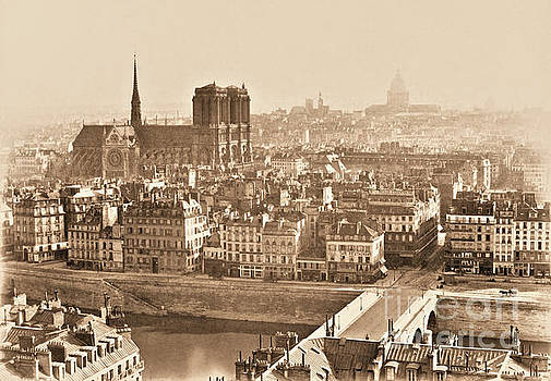 View of Paris by Charles Soulier