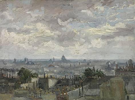 View of Paris Paris, June - July 1886 Vincent van Gogh 1853  1890 by Artistic Panda