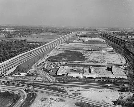 Chicago and North Western Historical Society - View of Proviso Train Yards and Northlake Industrial Park