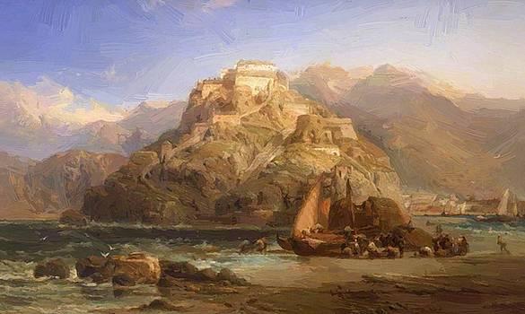 Webb James - View Of San Sebastian
