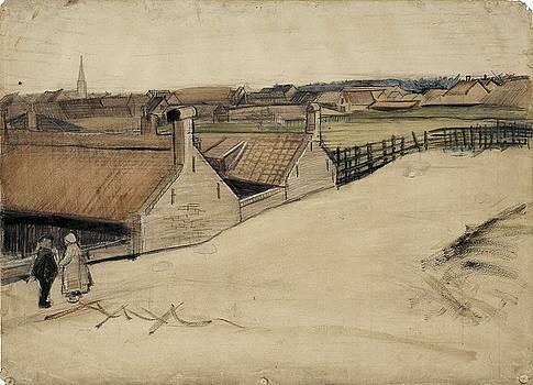 View of Scheveningen The Hague, summer - autumn 1882 Vincent van Gogh 1853  1890 by Artistic Panda
