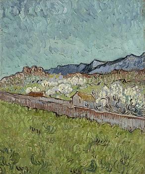 View of the Alpilles Saint Remy de Provence, 1890 Vincent van Gogh 1853  1890 by Artistic Panda