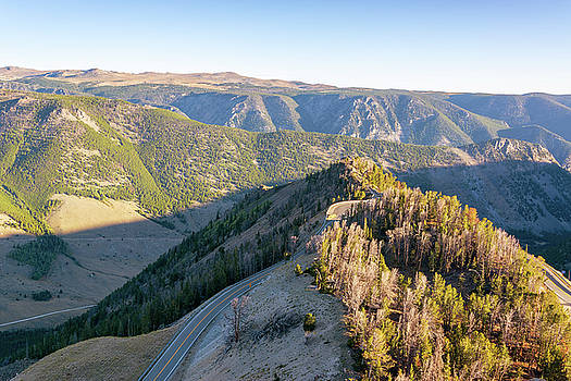 View of the Beartooth Mountains by Jess Kraft