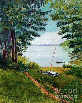 View of the Chesapeake by Jeannie Allerton