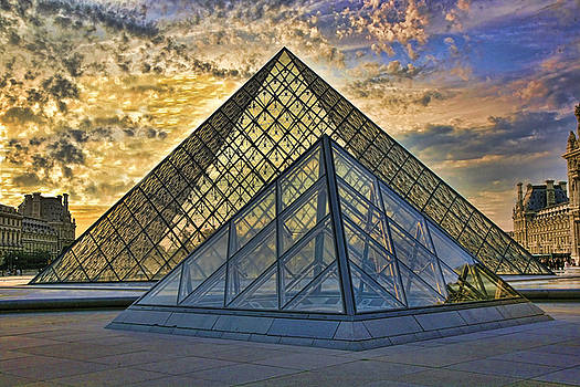 Chuck Kuhn - View of The Louvre