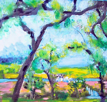 Patricia Taylor - View of the Marsh