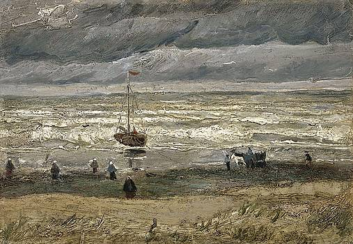 View of the Sea at Scheveningen The Hague, August 1882 Vincent van Gogh 1853  1890 by Artistic Panda