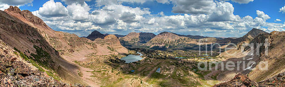View of the Uintas by Spencer Baugh