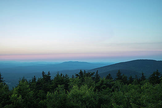 View of the Wapack Wildlife Refuge from Pack Monadnock by Morgain Bailey