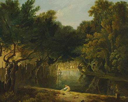 Wilson Richard - View Of The Wilderness In St James Park 1775