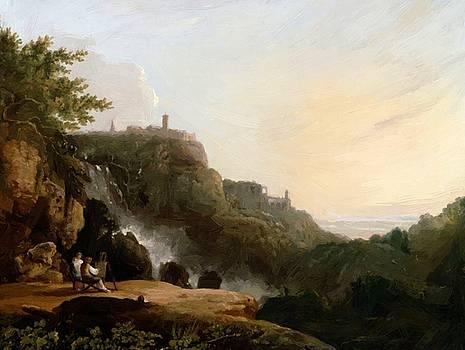Wilson Richard - View Of Tivoli The Cascatelle And The Villa Of Maecenas 1752