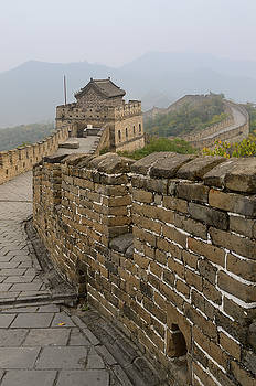 Reimar Gaertner - View of tower 12 and East on the Mutianyu Great Wall of China no