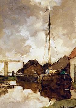 Weissenbruch Johan Hendrik - View On Canal