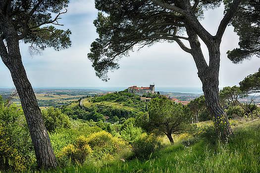 View on Rosignano Marittimo by Joachim G Pinkawa