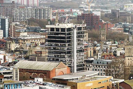Jacek Wojnarowski - View Over Bristol With Colston Tower