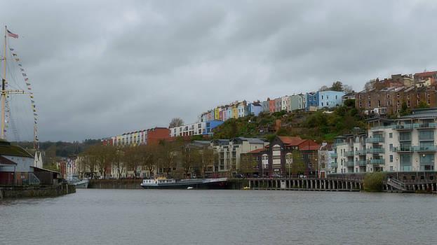 Jacek Wojnarowski - View over Colorful Houses in Clifton Bristol