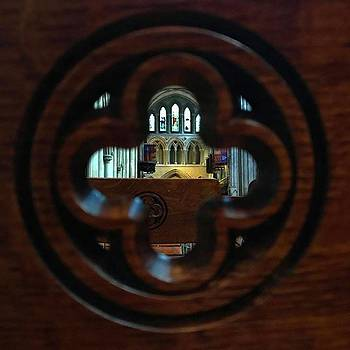 View Through A Pew  by Katie Cupcakes