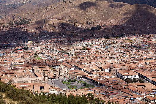 Aivar Mikko - View to Cusco from Saksaywaman Ruins