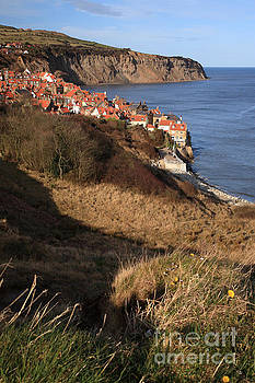 View to Robin Hoods Bay by Deborah Benbrook