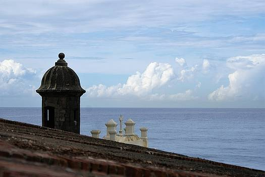 View to the Sea from El Morro by Lois Lepisto