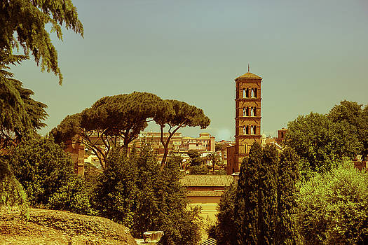 Views Of Rome. Santa Francesca Romana. by Yana Reint