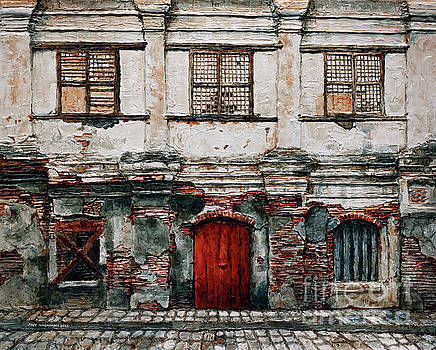 Vigan Facade 1 by Joey Agbayani