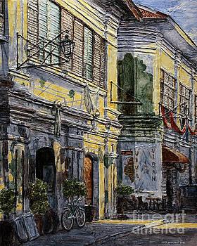 Vigan Houses by Joey Agbayani