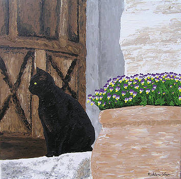 Vigilant Cat by Ricklene Wren