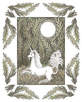 Vigilant Unicorn by Lise Winne