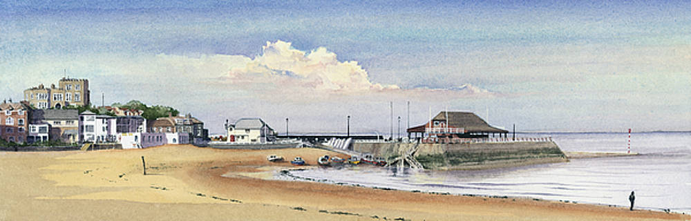 Viking Bay Broadstairs by Martin Howard