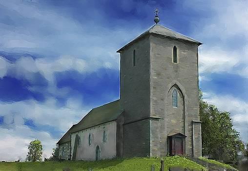 Viking Church St Olavs  by Michael Greenaway