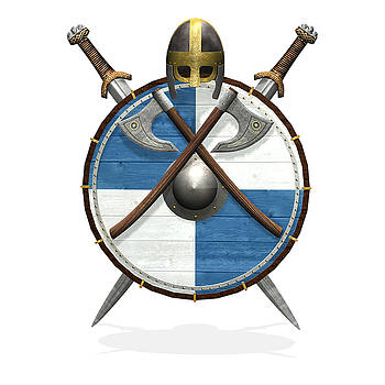 Viking crest II by Frederico Borges