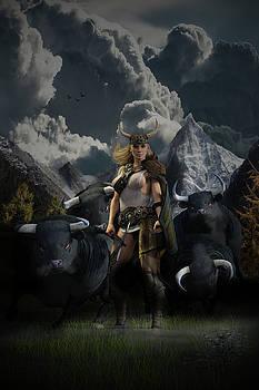 Viking Gefjon by Andy Renard