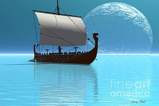 Corey Ford - Viking Ship 2