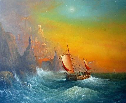 Viking Star From The Magical Realm by Ray Gilronan