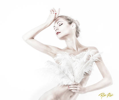 VikTory in White - Feathered by Rikk Flohr