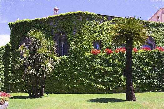 Villa Cimbrone Ravello by Daphne Sampson