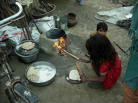 Village-1 by Karuna Ahluwalia