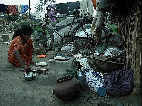 Village-2 by Karuna Ahluwalia