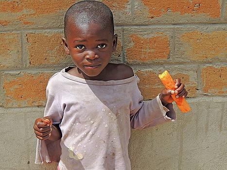 Village Boy, Tamashu, Zambia by Krin Van Tatenhove