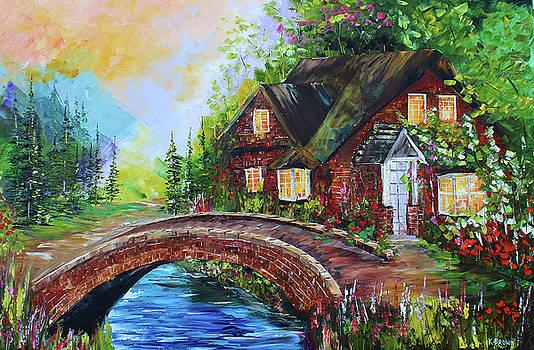 Village Bridge by Kevin Brown