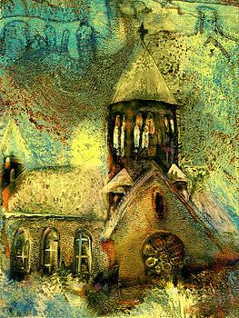 Village Church by Anne Weirich