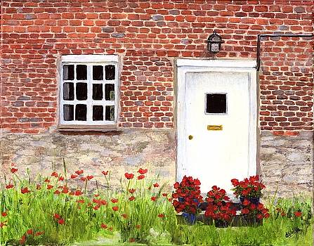 Village Doorway by Deborah Butts