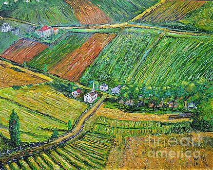 Village Green by Richard Wandell